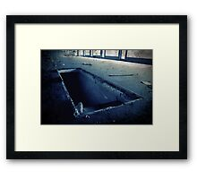 Abandoned Blue #02 Framed Print
