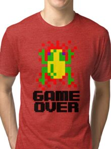 Frogger - Game Over Tri-blend T-Shirt