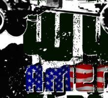 American WWII Stantard Sticker