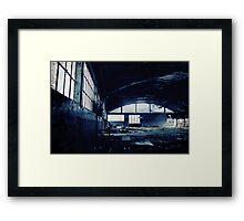 Abandoned Blue #03 Framed Print