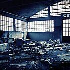 Abandoned Blue #05 by Daniele Porceddu