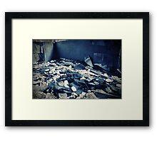 Abandoned Blue #06 Framed Print