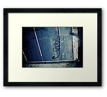 Abandoned Blue #08 Framed Print
