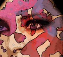 Beautiful Face #3 Sticker