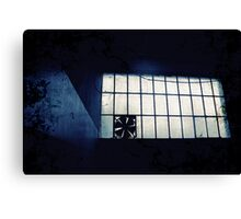 Abandoned Blue #11 Canvas Print