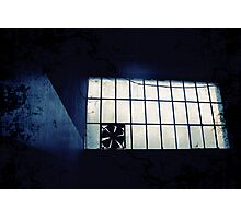 Abandoned Blue #11 Photographic Print
