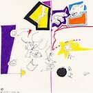 Night Drawings - Les Dessins de Nuit n°2 by Pascale Baud