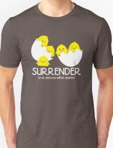 Cute evil baby chicks world domination T-Shirt