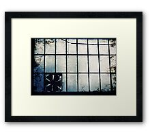 Abandoned Blue #14 Framed Print
