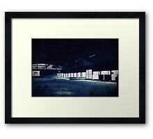 Abandoned Blue #18 Framed Print