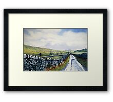 Walk in the Dales with Nicky Framed Print