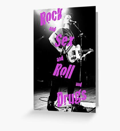 Rock Sex Greeting Card