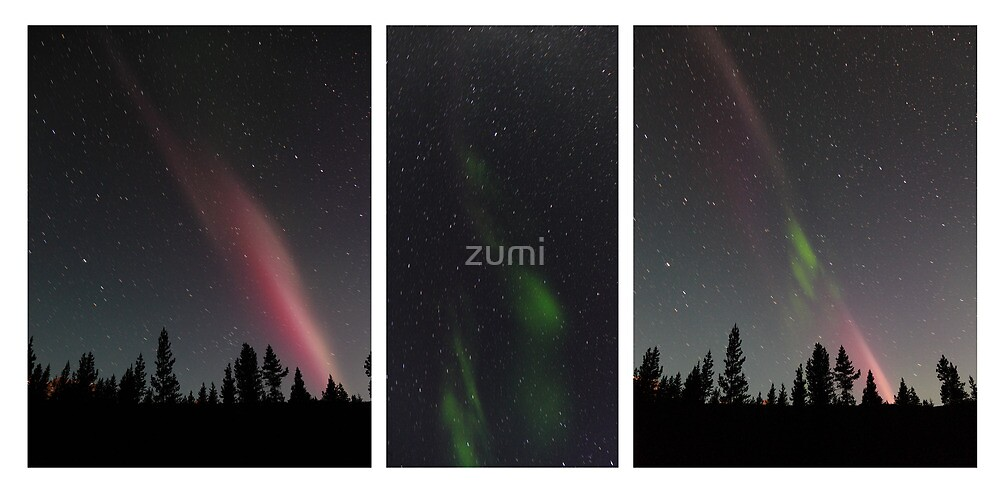 Aurora Borealis (sequence) by zumi