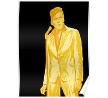 Billy Fury GOLD Poster