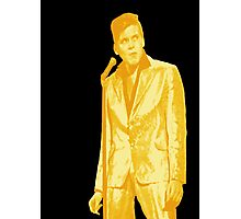 Billy Fury GOLD Photographic Print