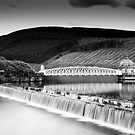 Long Exposure, Spillway and Valve Tower, The Talla Reservoir,  Scottish Borders by Iain MacLean