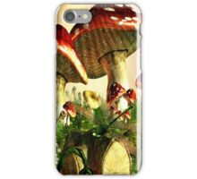 Toadstool and Dragonfly iPhone Case iPhone Case/Skin