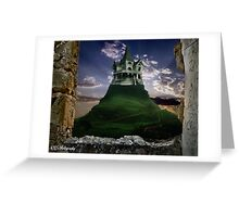 The grass is always greener Greeting Card