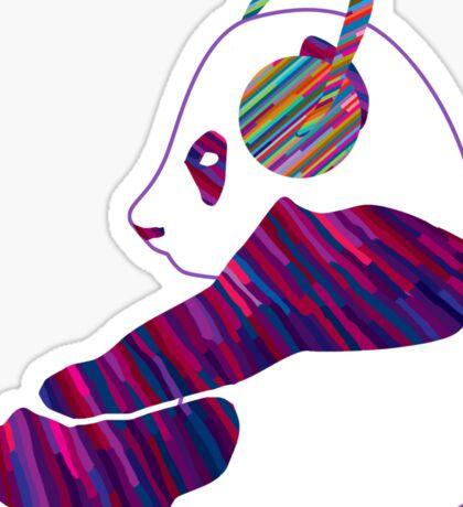 Chillin panda Sticker