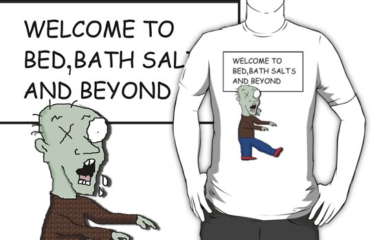 Bath salt zombie by sublimy99