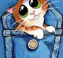 Sweet Ginger the Pocket Kitten by Lisa Marie Robinson