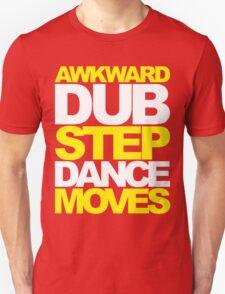 Awkward Dubstep Dance Moves (yellow/white) Unisex T-Shirt