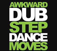 Awkward Dubstep Dance Moves (neon/white) Womens Fitted T-Shirt