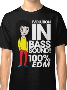 Evolution In Bass Sound 100%  Classic T-Shirt