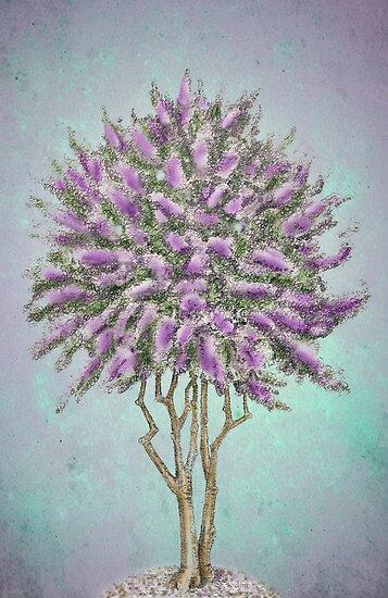 Crepe Myrtle Lavender by Diane Johnson-Mosley