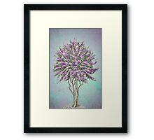Crepe Myrtle Lavender Framed Print