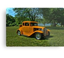 1931 Ford 5 Window Coupe Hot Rod Metal Print