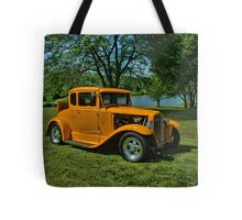 1931 Ford 5 Window Coupe Hot Rod Tote Bag