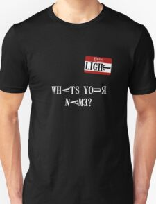 Death Note Name Tag T-Shirt