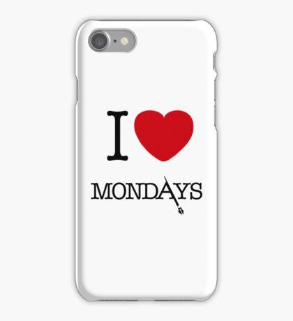 I Love Mondays- Castle iPhone Case/Skin