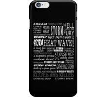 Richard Castle v2 iPhone Case/Skin