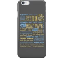 Richard Castle v3 iPhone Case/Skin