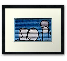 Sleep Stick Framed Print