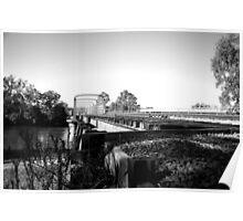train bridge over the murray Poster