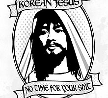 Korean Jesus by Hume Creative
