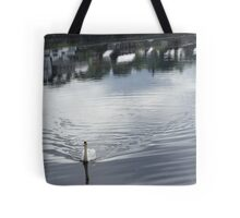 Swan, at Donegal, Ramelton IRELAND Tote Bag