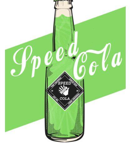 Speed Cola - Poster Sticker