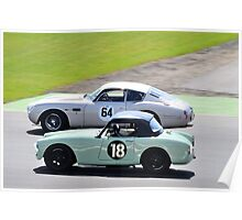 Turner vs Aston Martin Poster