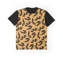Dancing Wolves Graphic T-Shirt