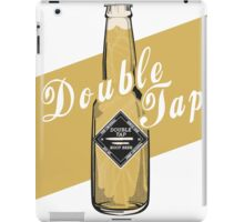 Double Tap - Poster iPad Case/Skin