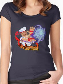 Turducken! Women's Fitted Scoop T-Shirt