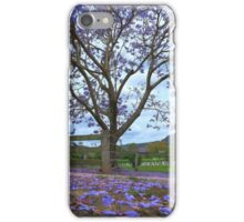 Jacaranda! Canungra Qld iPhone Case/Skin