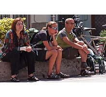Waiting for the Giro Photographic Print