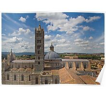Cathedral in Siena Poster