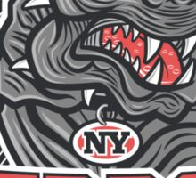 NY Terror Dogs Sticker