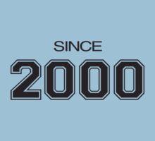 Since 2000 One Piece - Short Sleeve